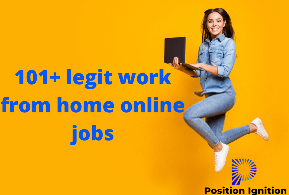 101+ best legit work from home jobs