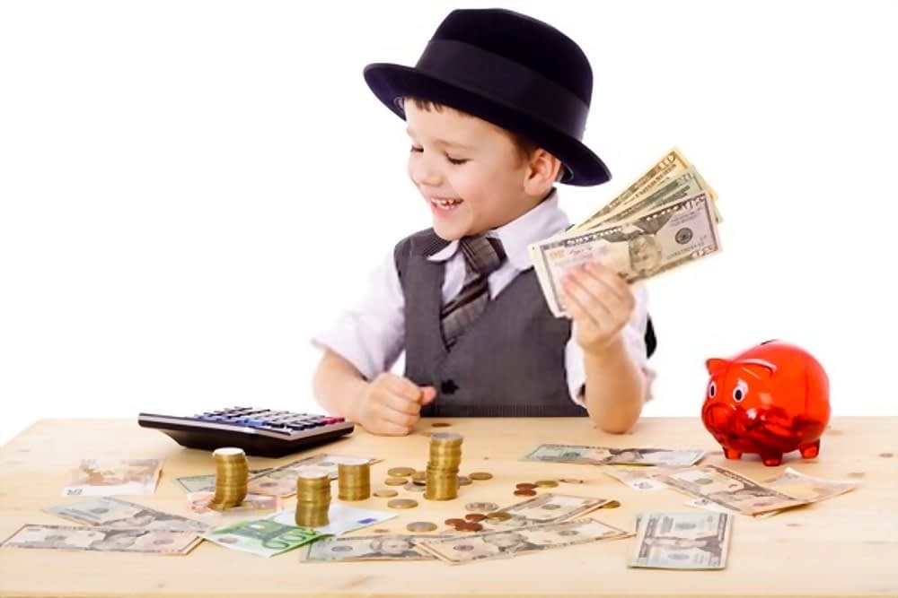 How to make and save money as a kid