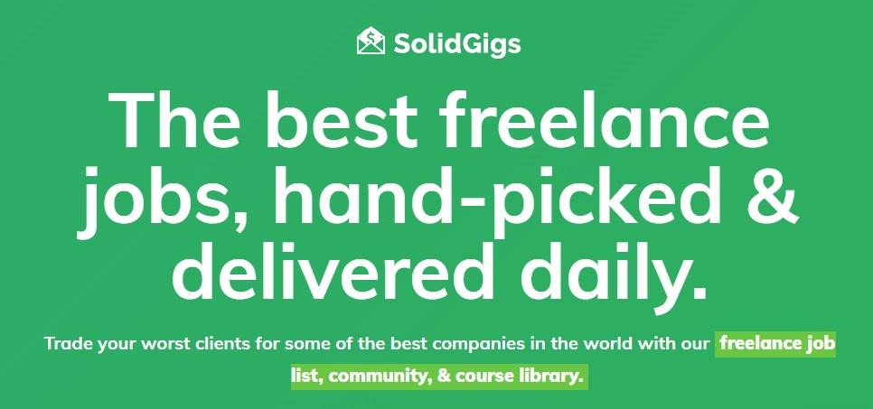 SolidGigs reviews
