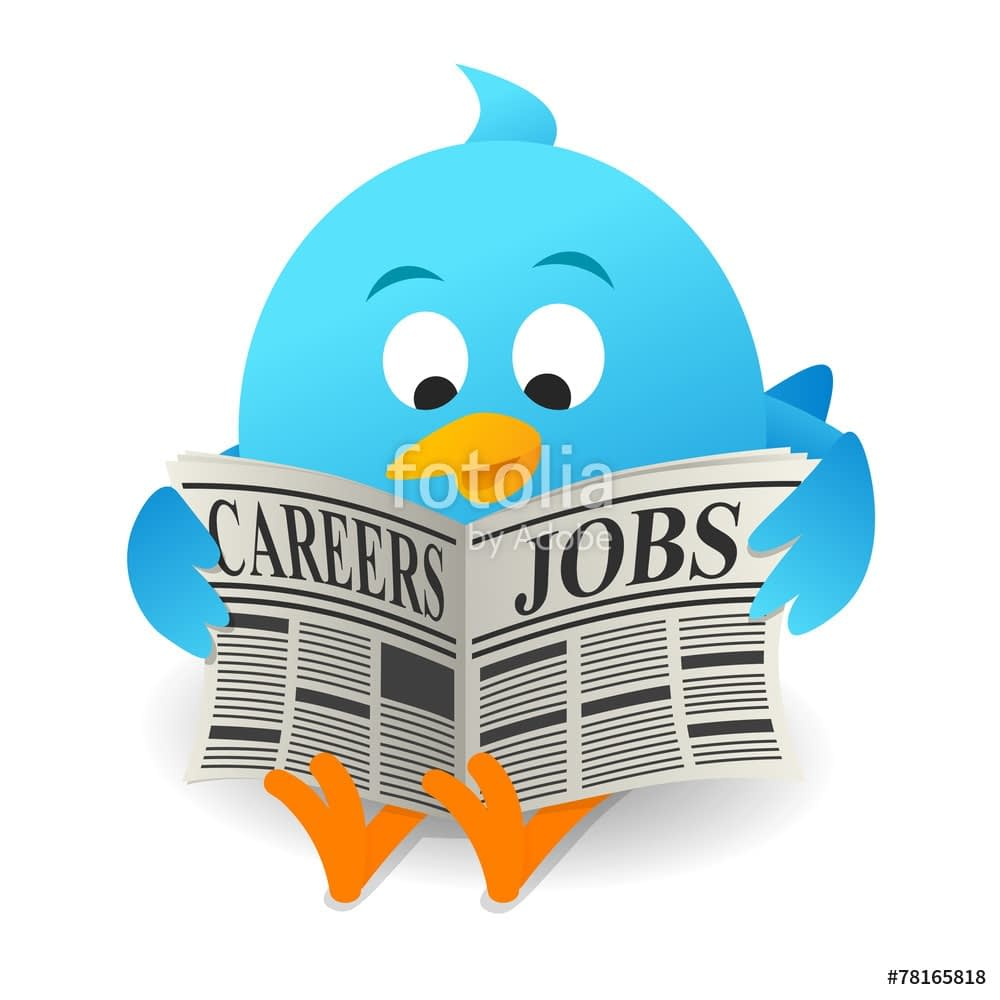 twitter job search tips
